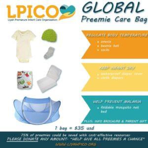 Preemie Care Bags